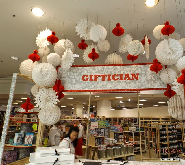 Domesblissity: The #Giftorium @Myer