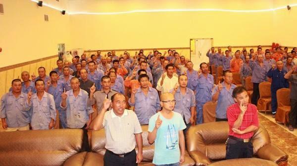600 Pekerja China Masuk Islam di Arab Saudi