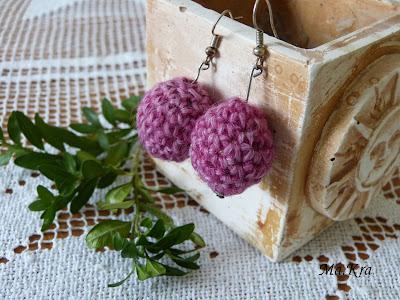 kolczyki szydełkowe, kolczyki na szydełku, crochet, crochet jewerly, crocheted earrings
