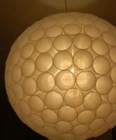 TUTORIAL LAMPARA DE VASOS DE PLASTICO 209