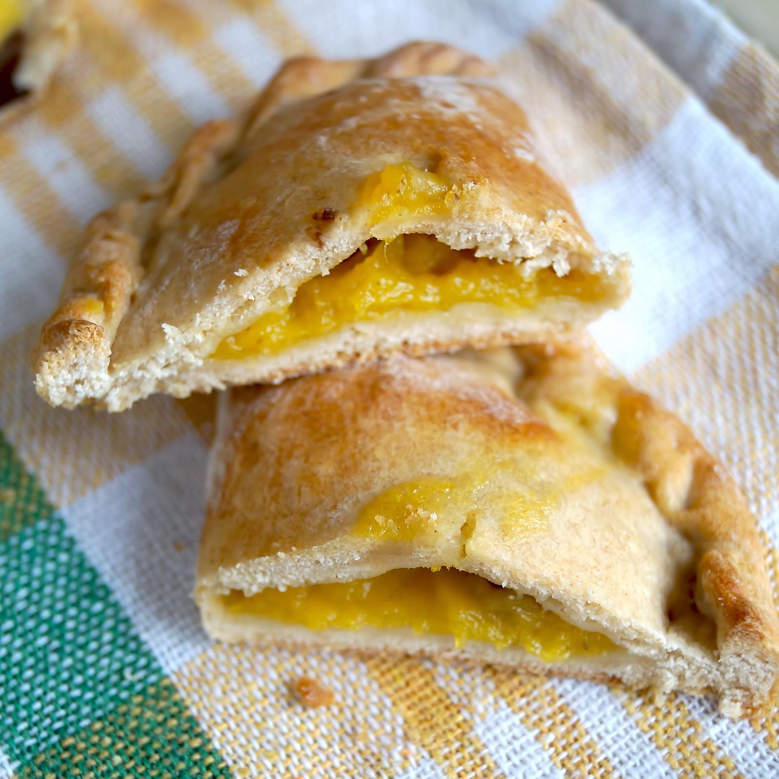 заморож слоеное тесто пирожки с тыквой