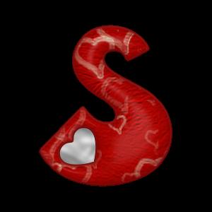 Luces Y Textos Png: Letras de corazones