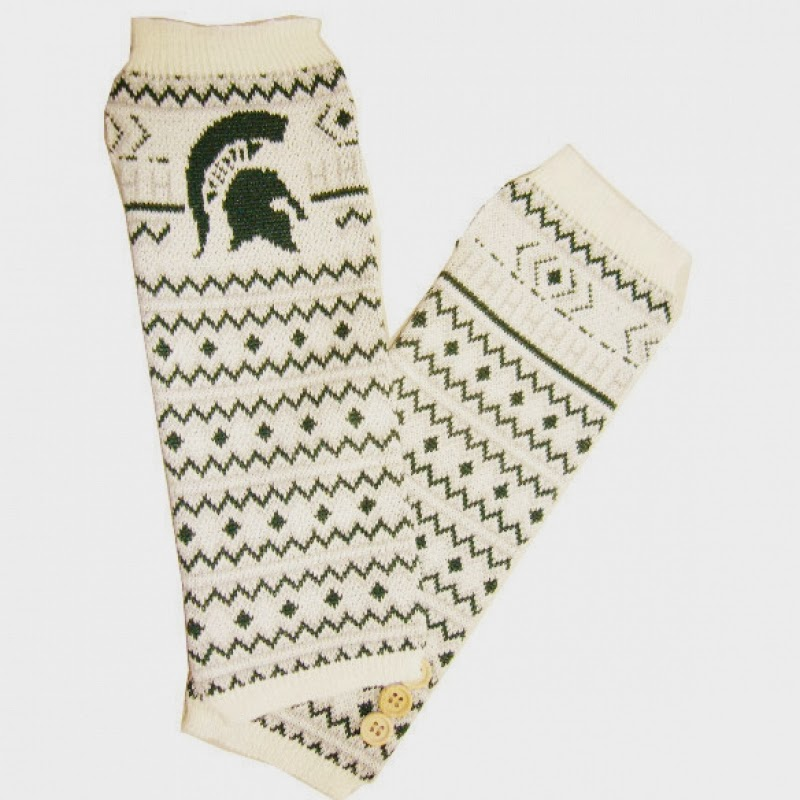 Michigan State Spartans NCAA Arm Warmers