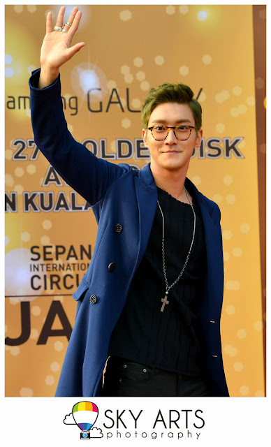 Samsung GALAXY The 27th Golden Disk Awards #GDA Red Carpet @ Sepang F1 Circuit