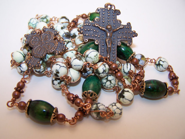 Newly Listed! Scapular Rosary!