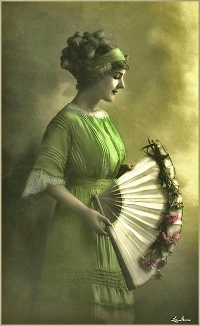 foto vintage mujer antigua imagen para scrapbooking