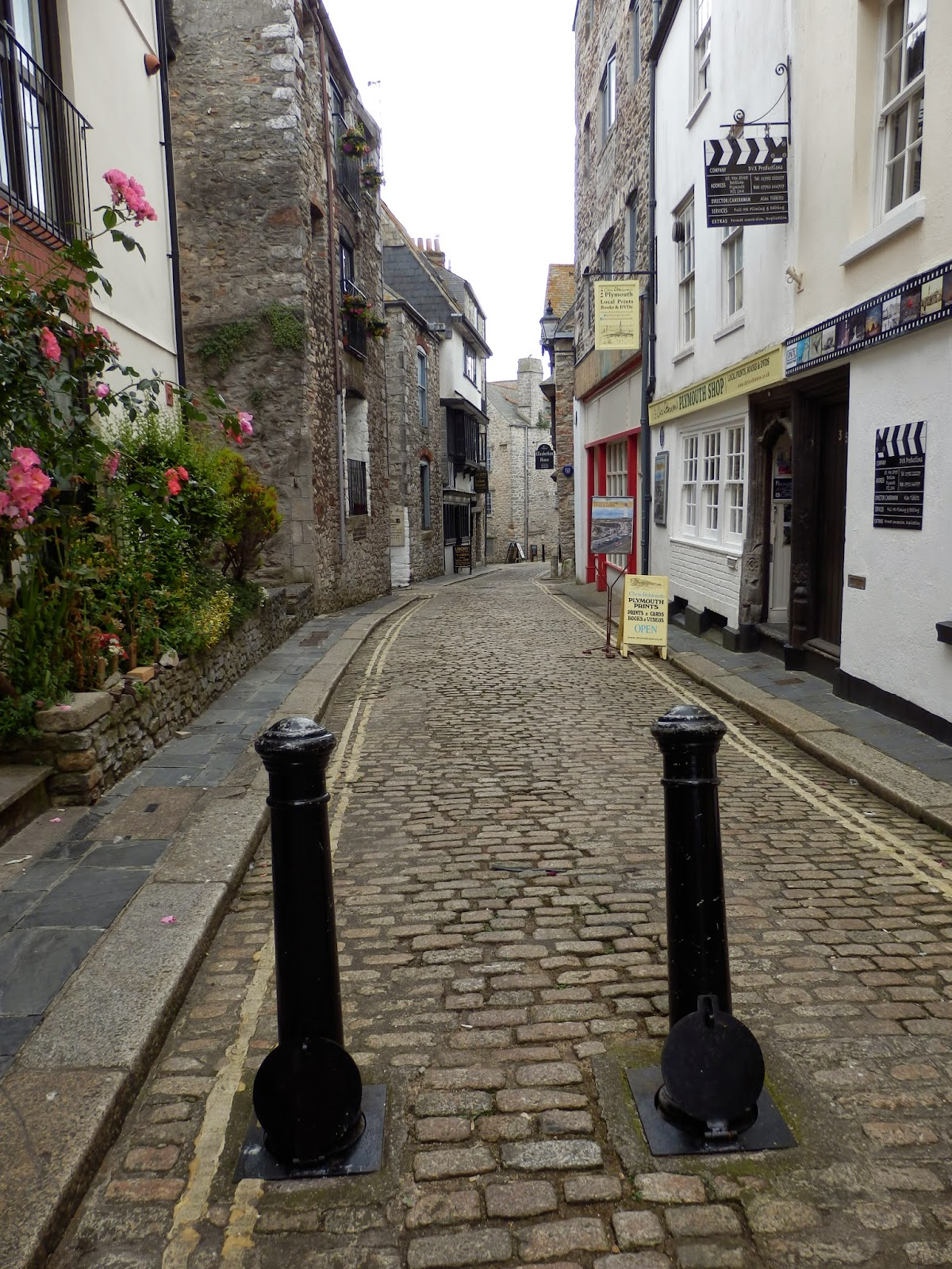 Barbican old streets, Plymouth