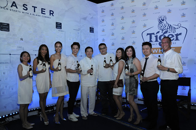 Chapman To malaysia tiger white coaster premiere group photo actors