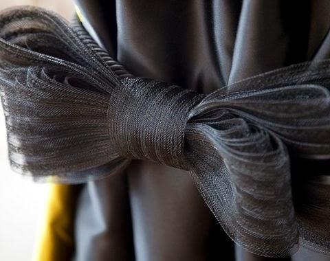綁帶樣式|黑色蝴蝶結綁帶
