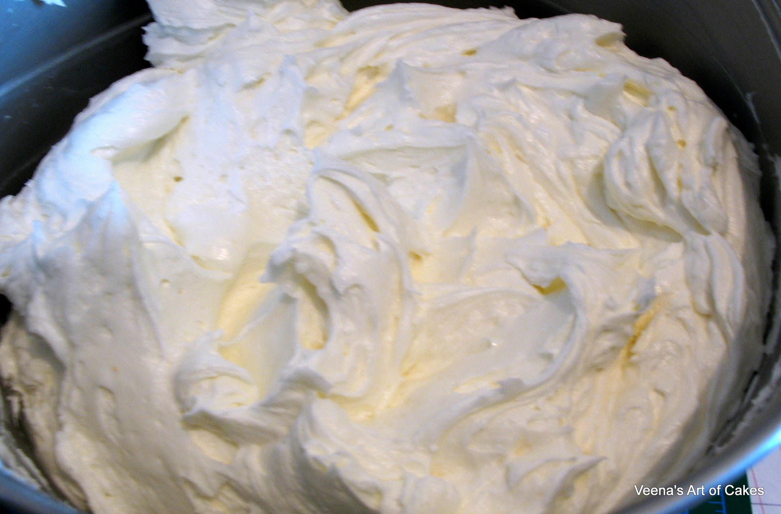 Buttercream – Properly whipped buttercream is a serious culinary ...