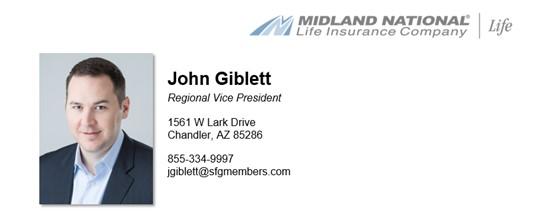 John Giblett - Regional Vice President