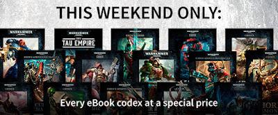 Descuento en ediciones digitales de los Codex 40k