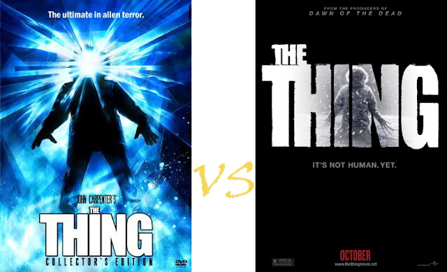 The Thing 1982 vs 2011