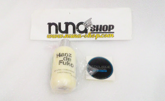 Conditioner Rambut Hanz de Fuko Natural Conditioner