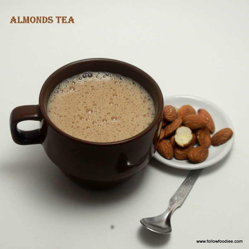 Almonds Tea Recipe
