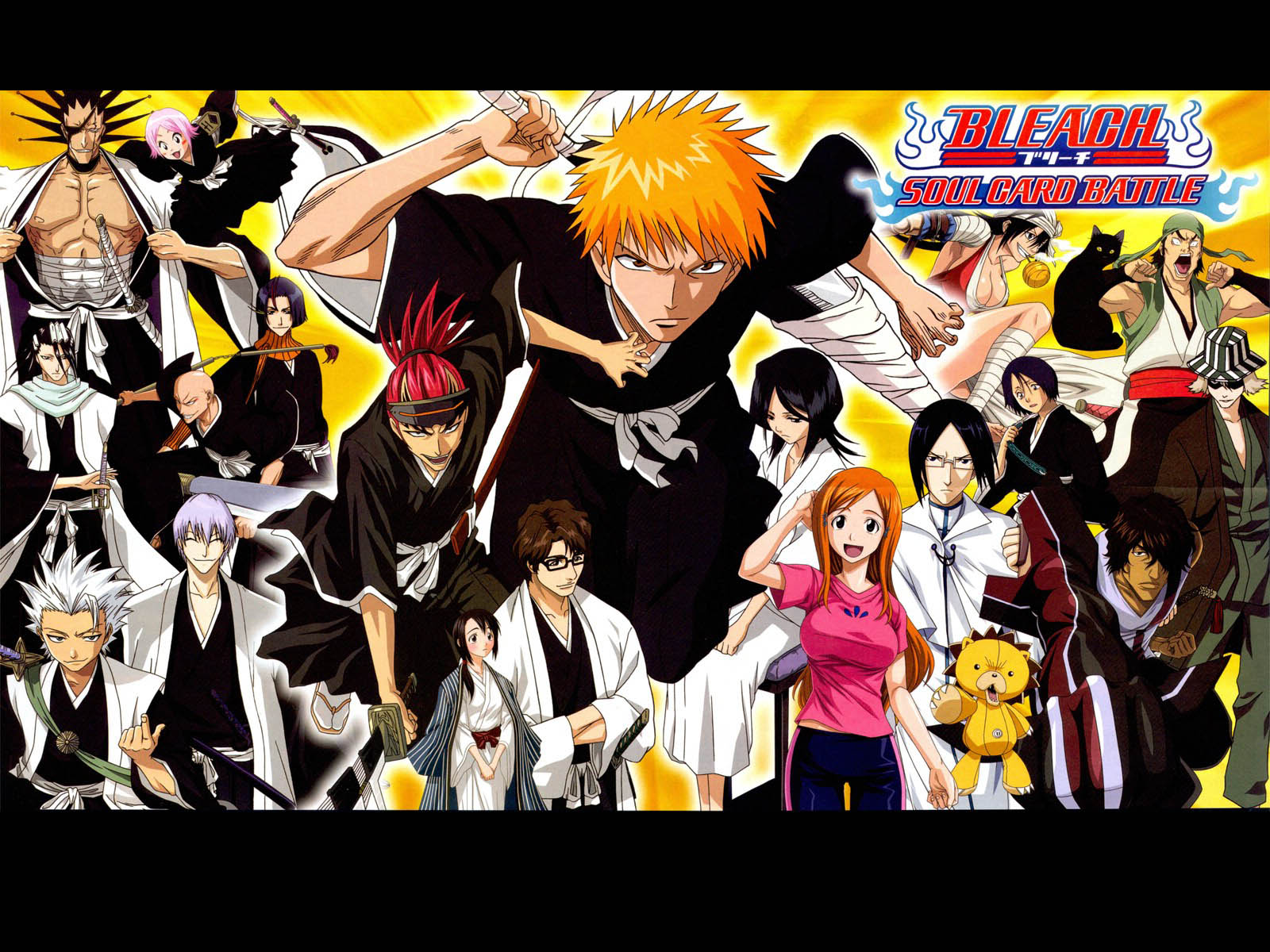 Anime Characters Hd : Wallpapers bleach