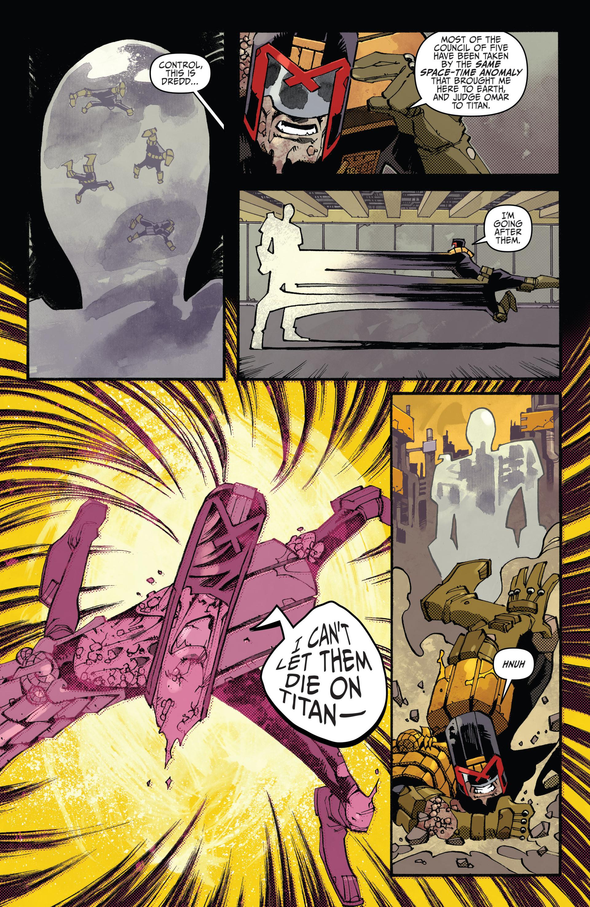 Read online Judge Dredd (2012) comic -  Issue #20 - 22