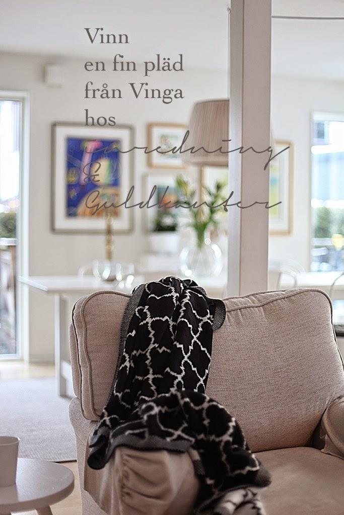Tävla om en fin pläd från Vinga