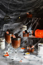 La burrica recomienda: Mousse de chocolate para Halloween