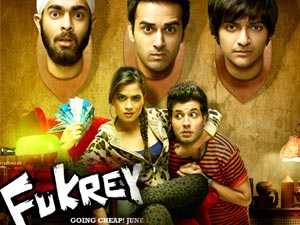 Watch Fukrey (2013) Hindi Movie Online