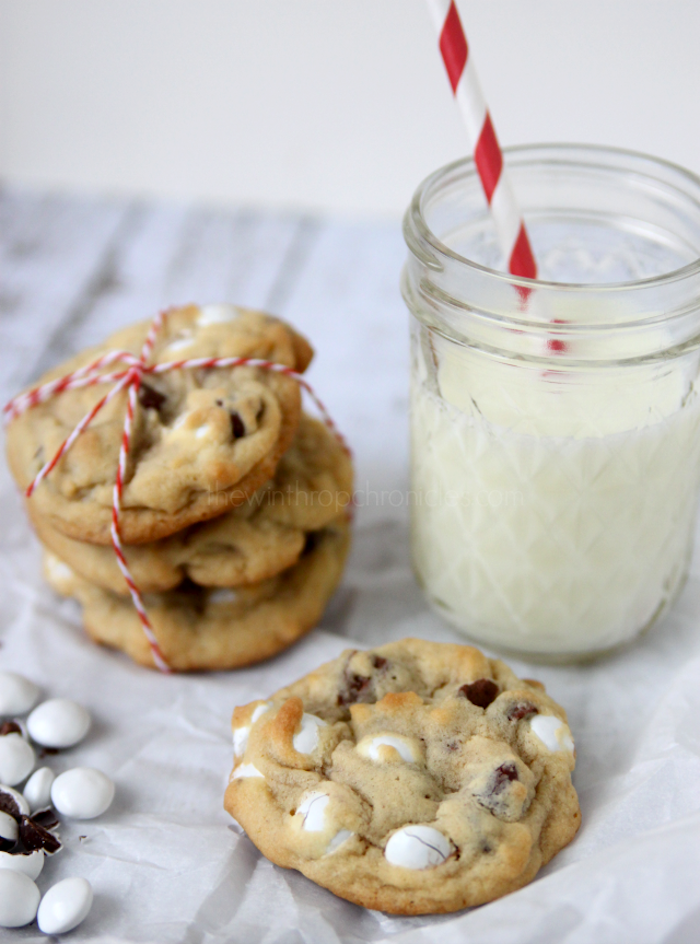 Mint Chocolate Chip Cookies:Christmas Cookie Exchange - Made To Be A ...