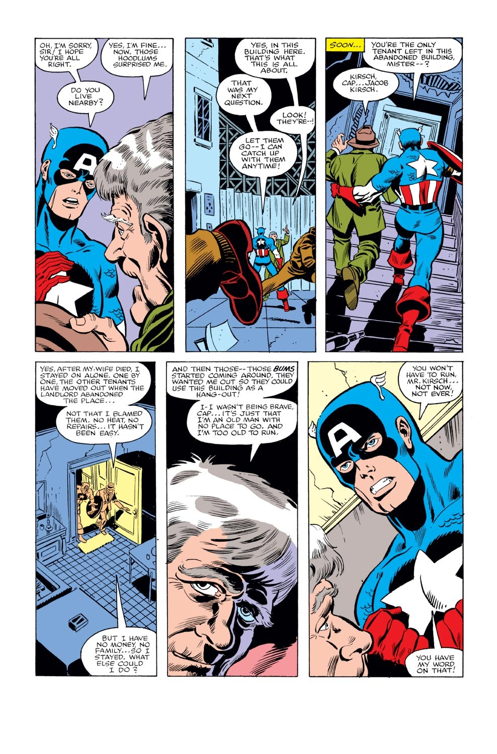 Captain America (1968) Issue #240 #155 - English 4