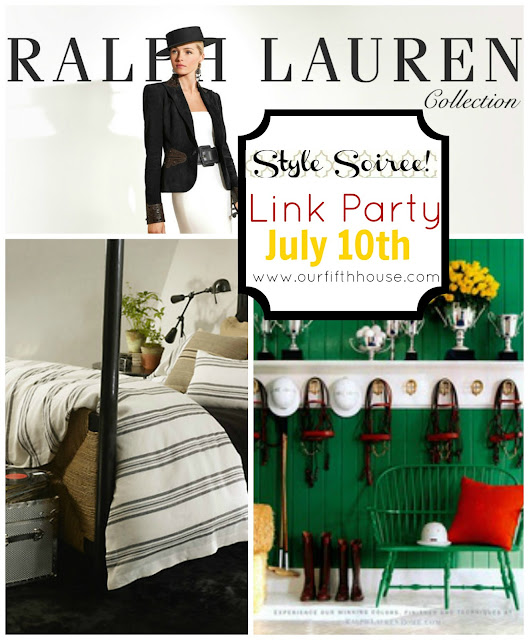 Our Fifth House - Ralph Lauren link party