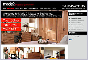 Made2 Measure Bedrooms
