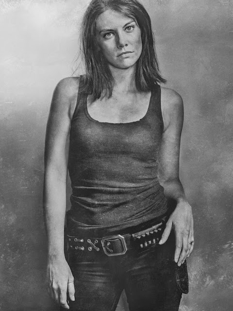 Lauren Cohan como Maggie Greene – The Walking Dead _ sexta temporada, Silver Portraits – Photo Credit: Frank Ockenfels 3/AMC
