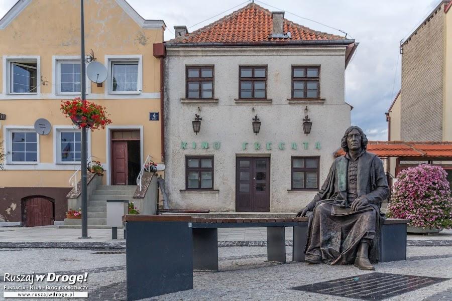 Taki siedzący Kopernik - aż chce się zrobić selfie