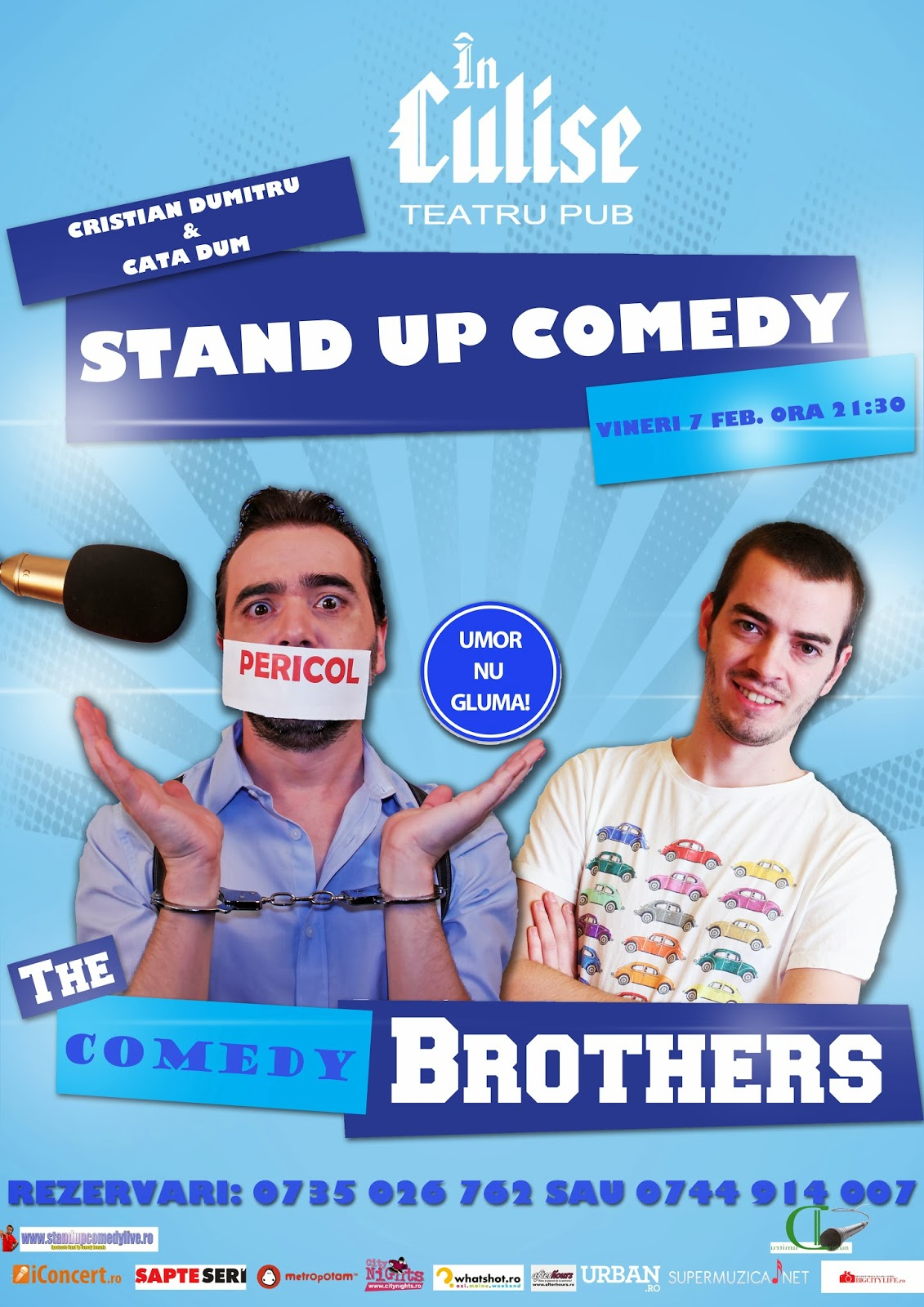 stand up comedy bucuresti