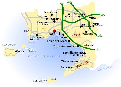 Cartina Politica della Napoli