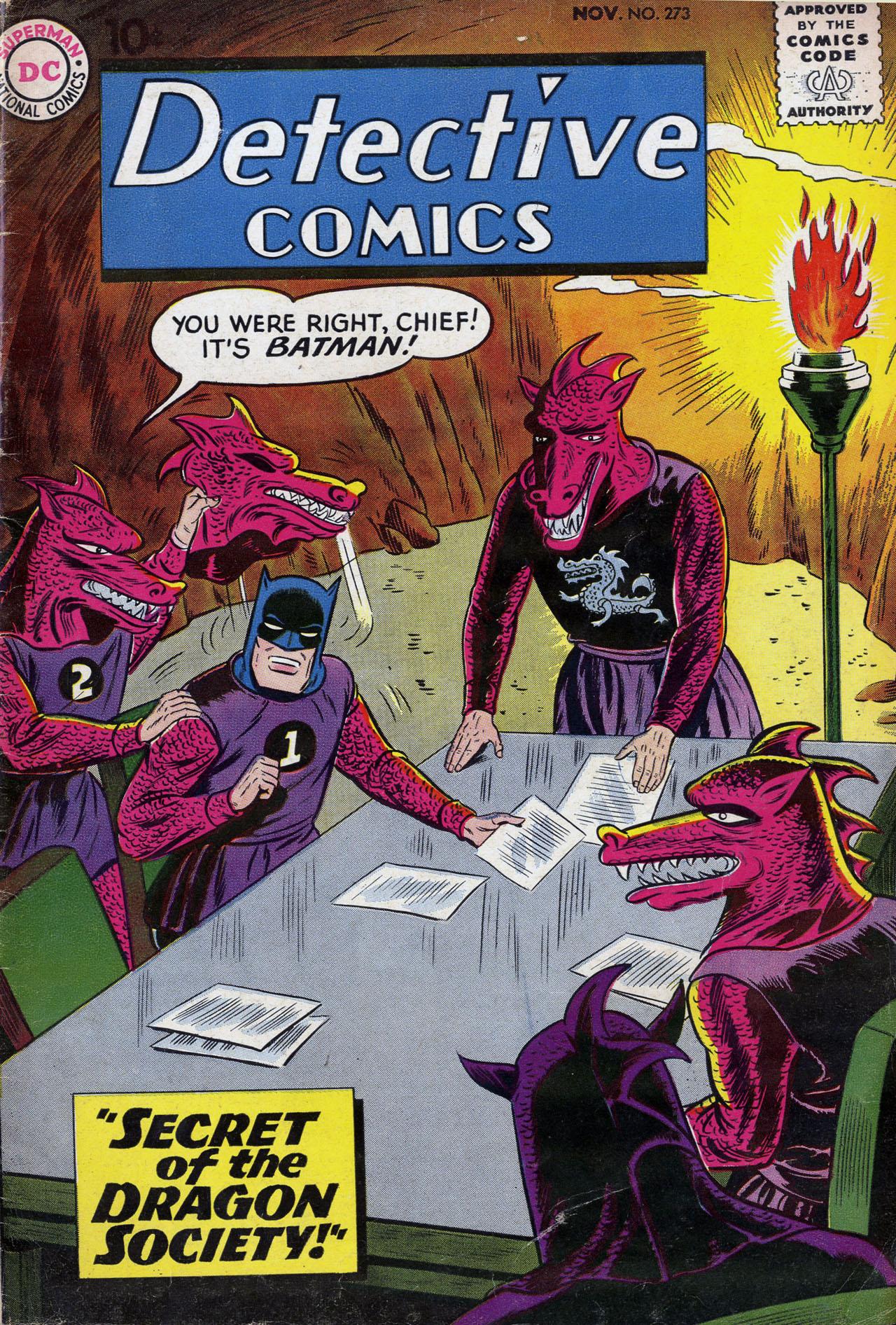 Detective Comics (1937) 273 Page 1