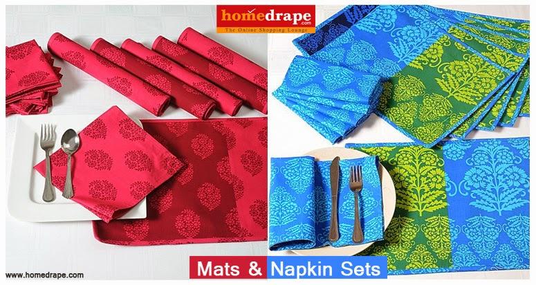 Online Mats & Napkin Sets
