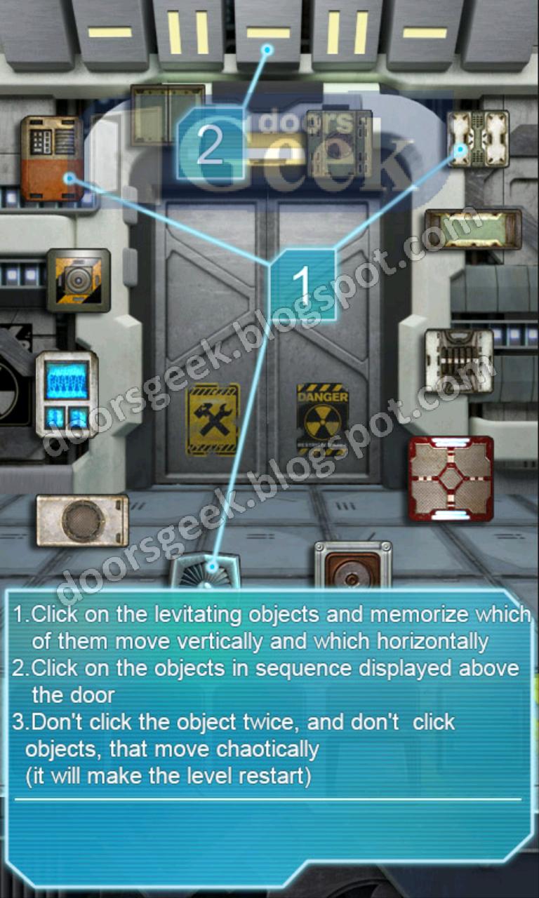100 doors aliens space level 43 doors geek for 100 doors door 4 solution