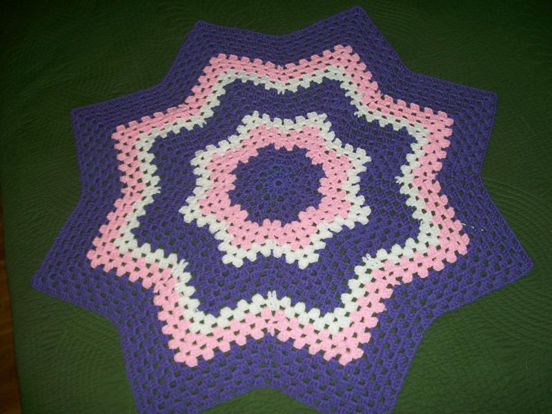 Smoothfox Crochet And Knit Testers Pictures Of Granny Round Ripple