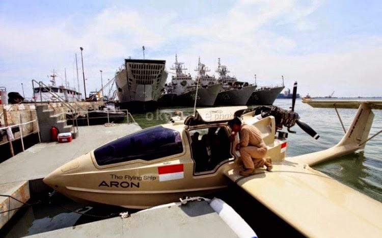 Pesawat patroli laut Aron Flyng Ship MK2