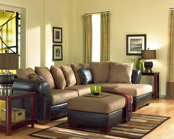Elite Decor Refresh Your Living Room By Comfortable Ottomans