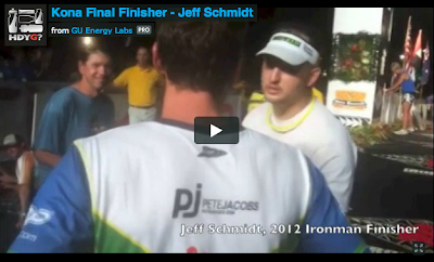 Kona Final Finisher - Jeff Schmidt
