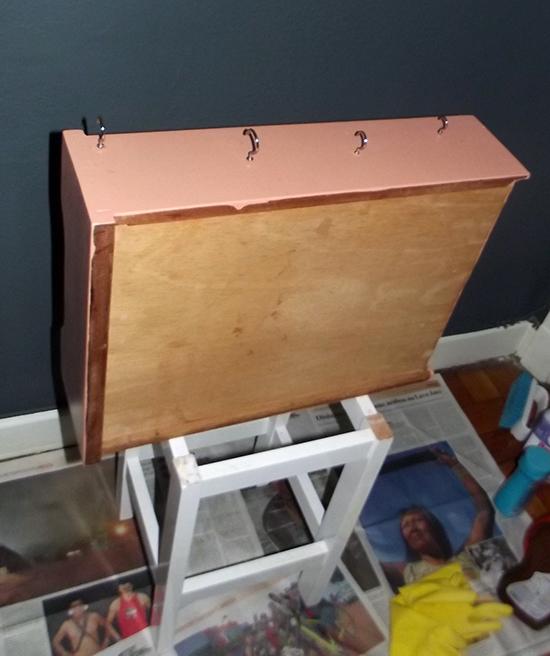 nicho organizador, gaveta velha, drawer, upcycling, reciclagem, nicho, decoracao, faca voce mesmo, diy