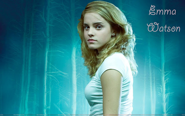 Emma Watson Hollywood Actress Wallpaper