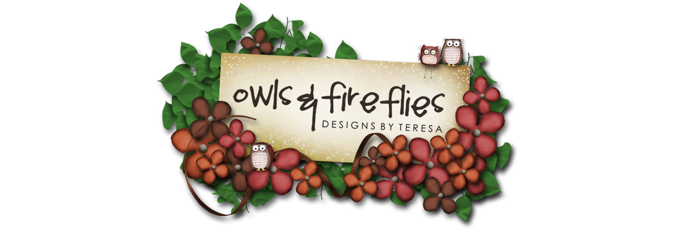 Owls & Fireflies Design