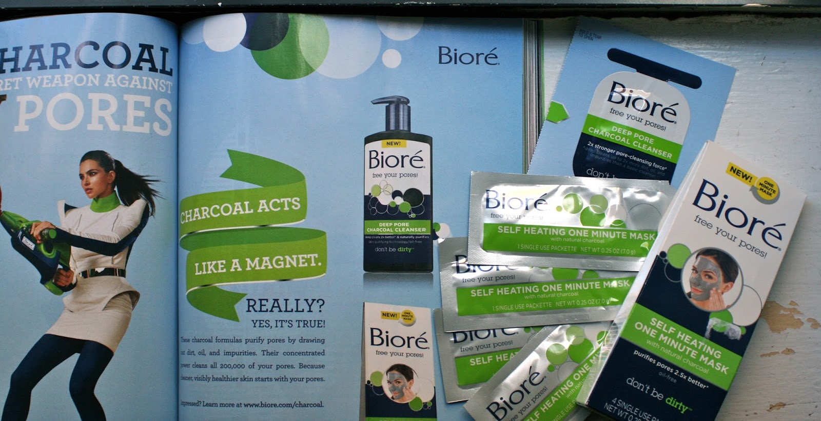 Image result for biore advertisement