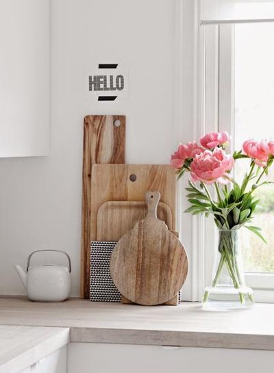 Keuken witte keukenkraan inspirerende foto 39 s en idee n van het interieur en woondecoratie - Keuken decoratie ideeen ...