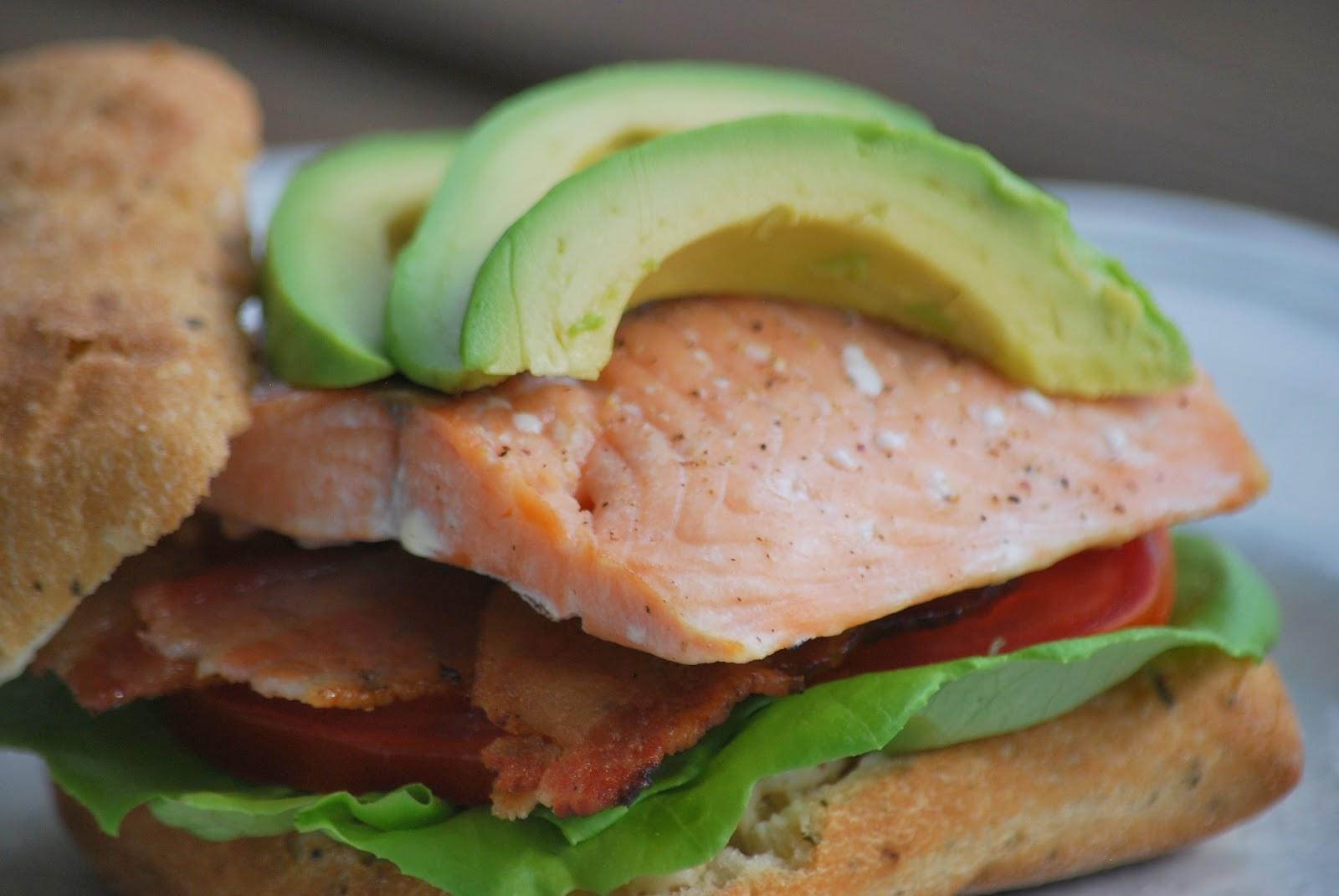 salmon blt