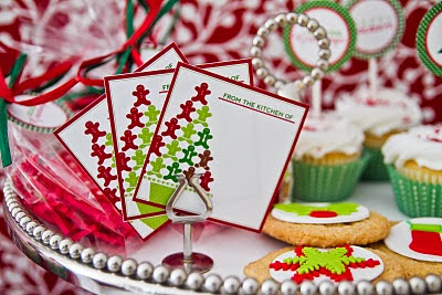 Free Printable Christmas From the Kitchen of or Hand Made Labels.