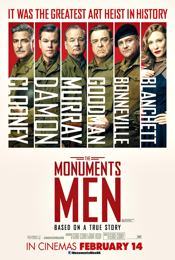 Monuments Men póster