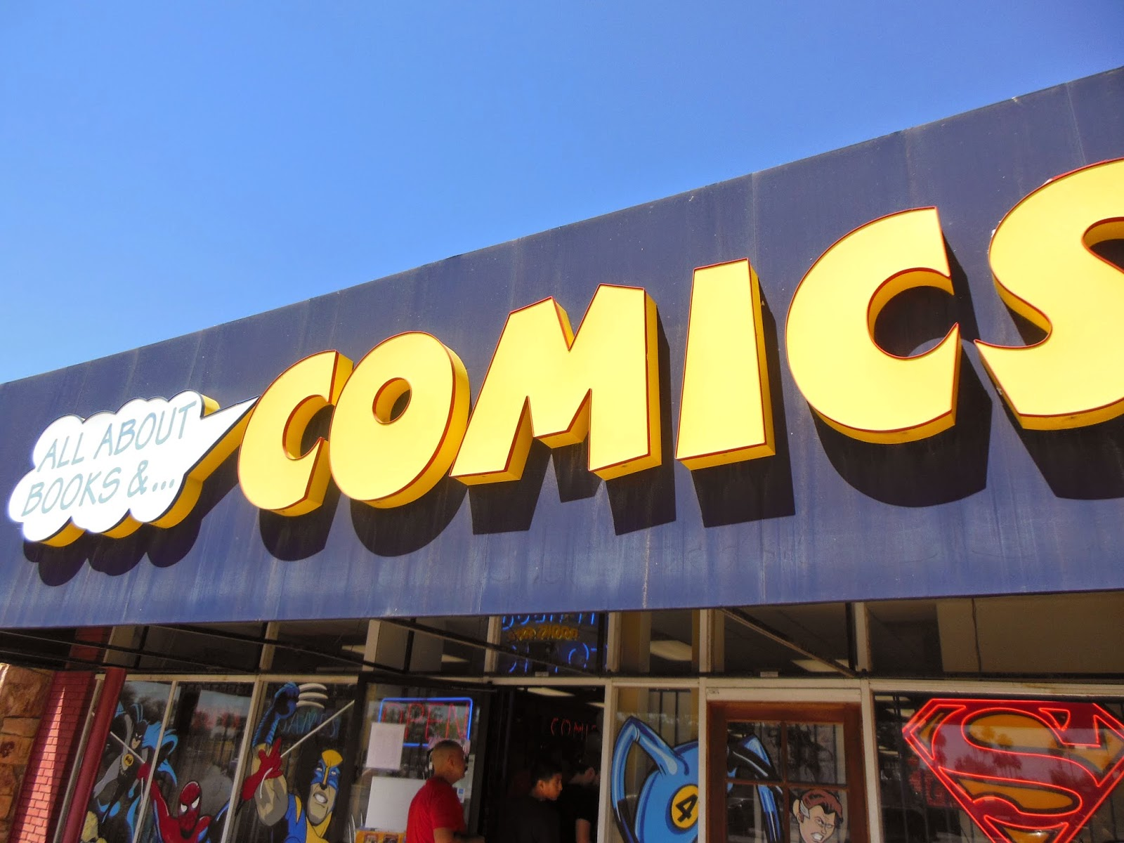 All About Books and Comics FCBD
