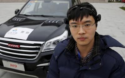 Οι Κινέζοι έφτιαξαν αυτοκίνητο που ελέγχεται μόνο με τη σκέψη