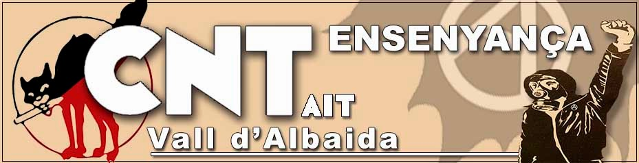 CNT ensenyança Vall d'Albaida